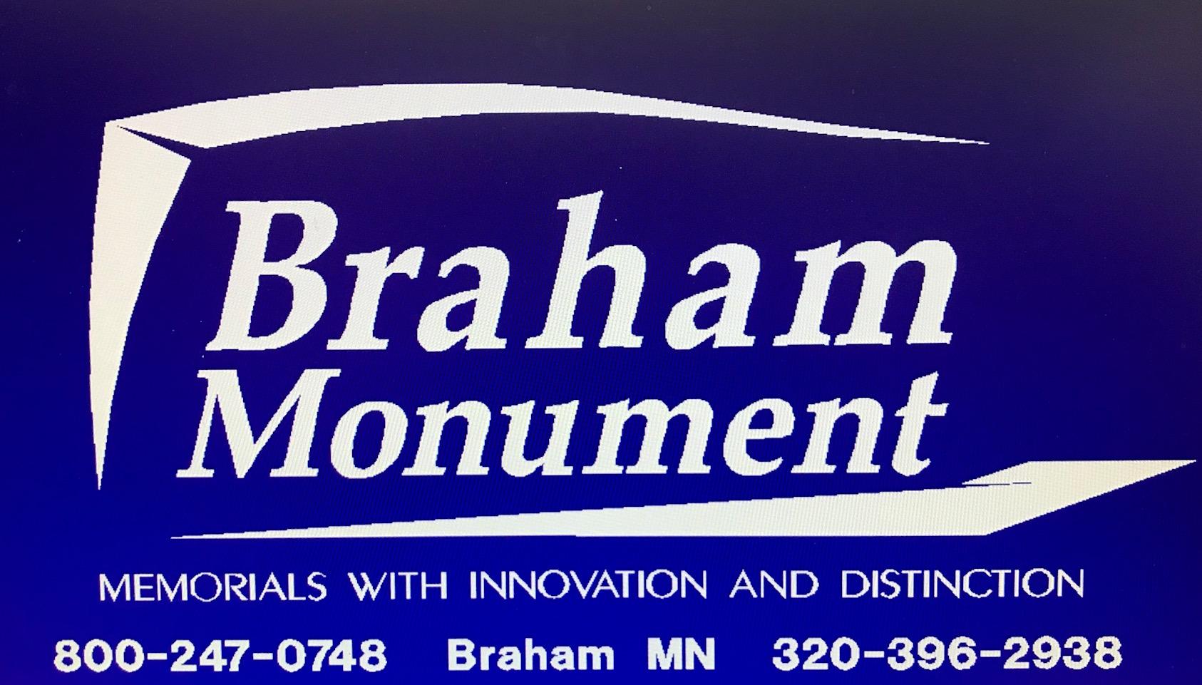 Braham Monument Company Logo